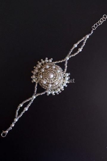 Bracelet brodé Octavia