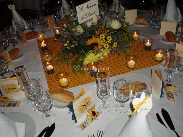 Centre de table Provence