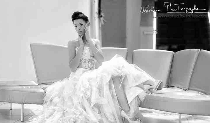 Photo de mariée mode