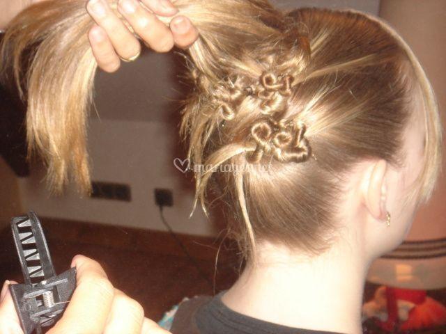 Essai coiffure mariage