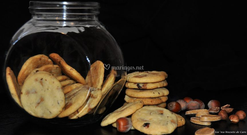 Cookies choc. Dulcey/noisettes