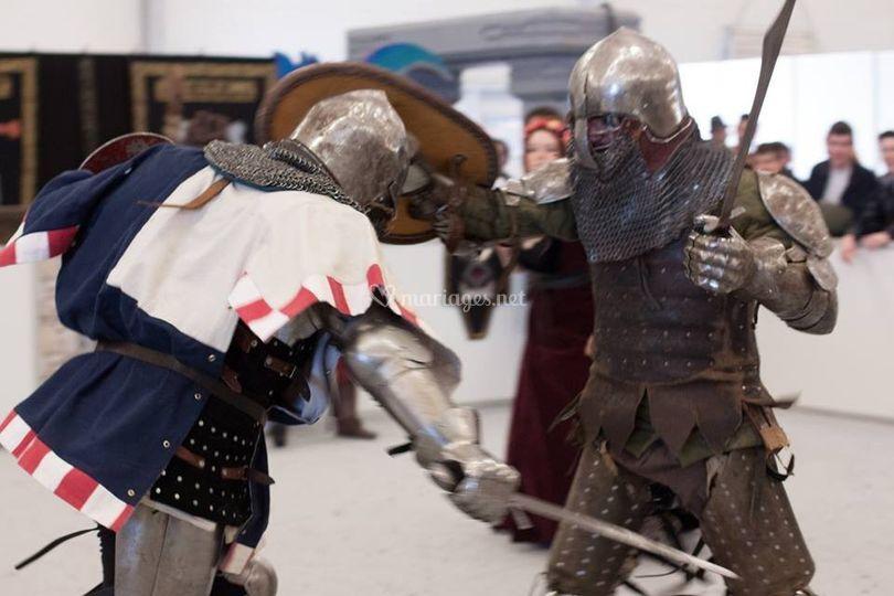 Nos combattants en action !