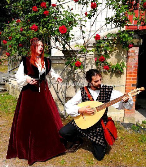 Deux de nos musiciens