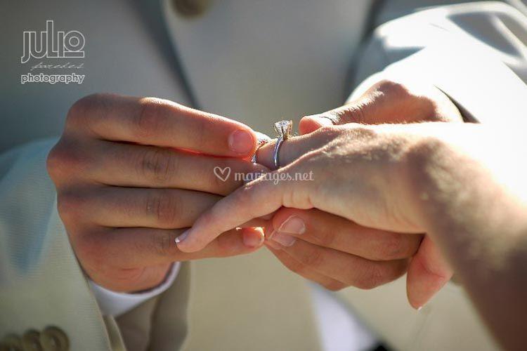 Echange des anneaux