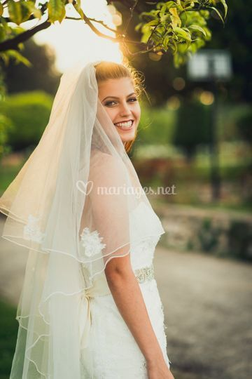 Shooting mariée