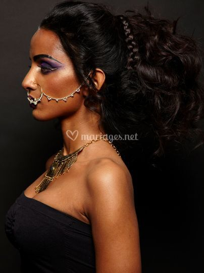 Indian make-up and hairstylist