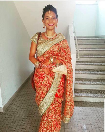 Indian make-up