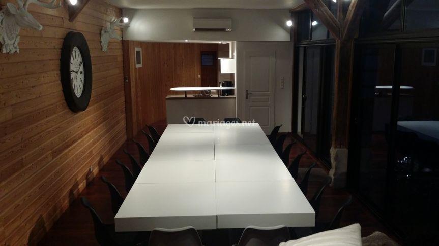 Salle de réception modulable