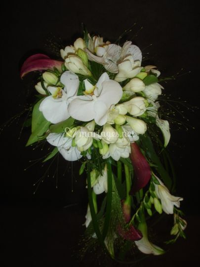Bouquet en chute