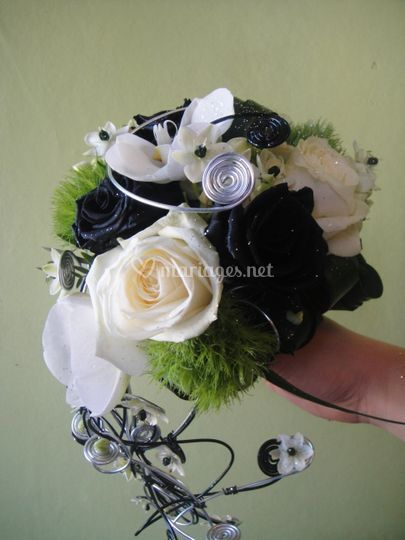 Bouquet black & white