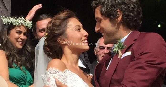 Mariage de Solen Heussaff