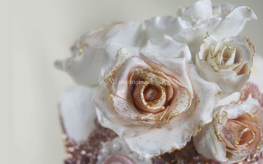 Rose en sucre