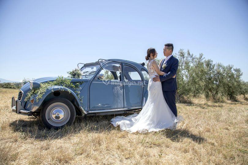 Location véhicule pour mariage