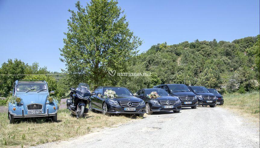 Flotte véhicule mariage