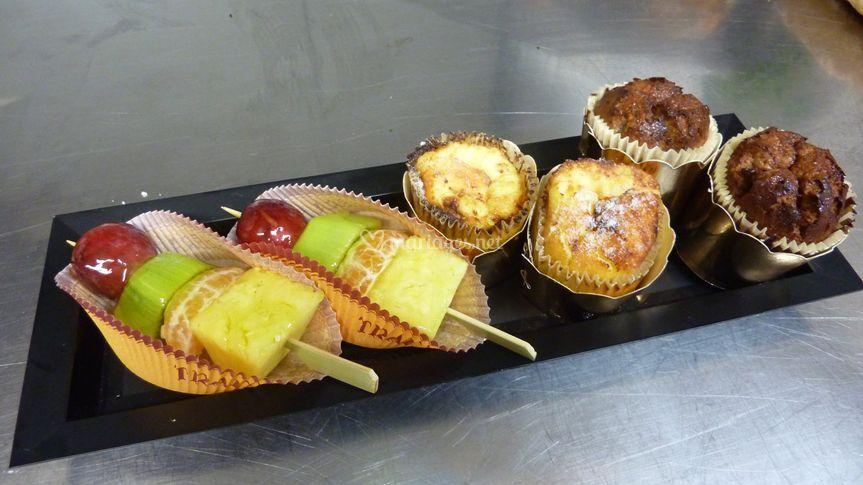 Brochette de fruits fiadone