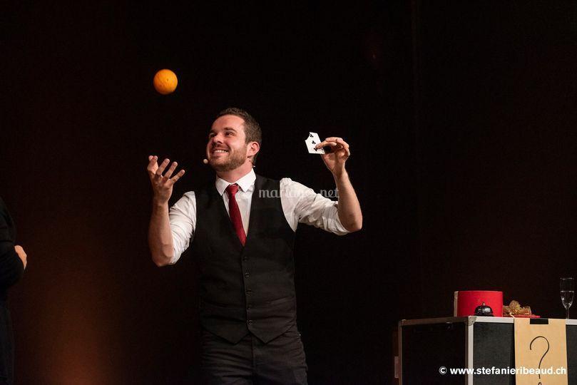 Anthony Biegel Magicien