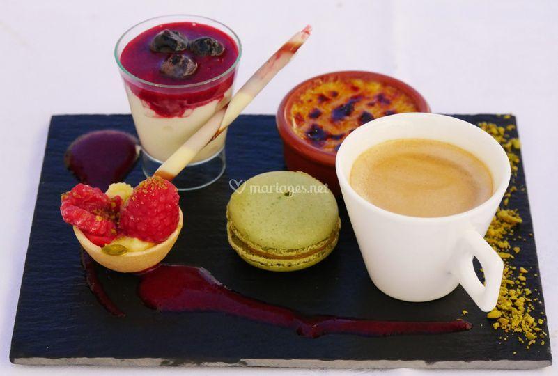 Maison hofer - Assiette rectangulaire pour cafe gourmand ...