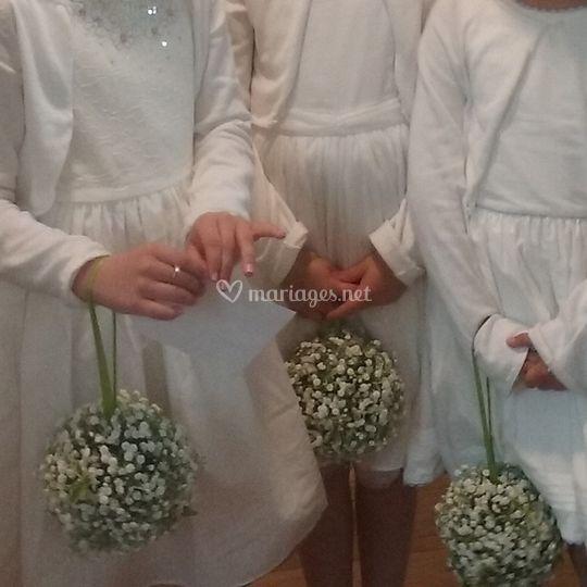 Bouquet petite fille