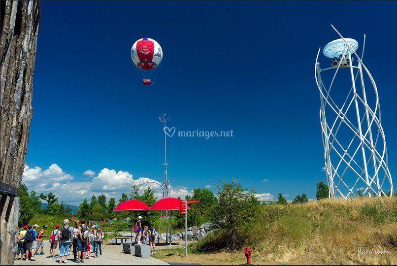 Ballon et Aérobar