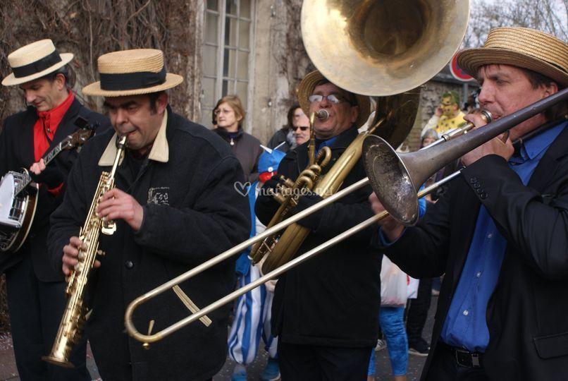 Carnaval de Pacy sur Eure jazz