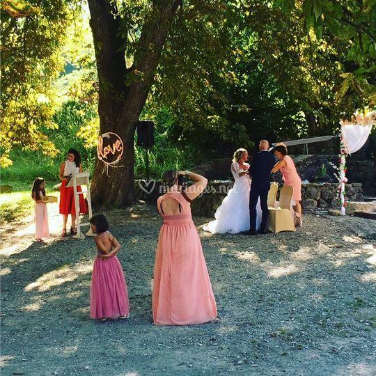 Mariage bohème cérémonie laiqu