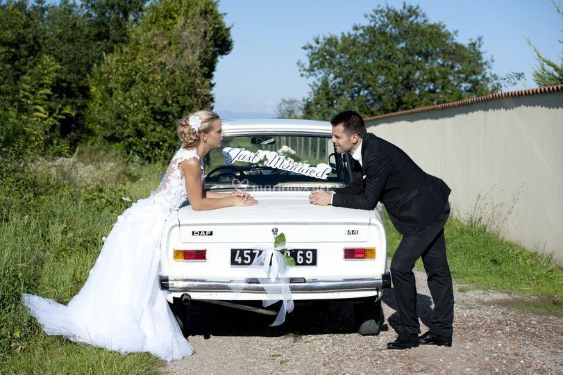 Mariés sur Delphine Pinel