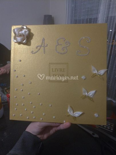 Livre d'or customisé