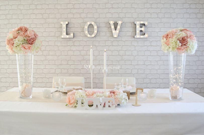 Haute couture - table d'honneur