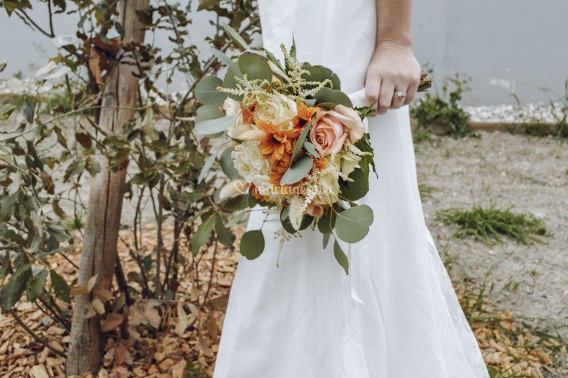 Bouquet de mariée bohème 1