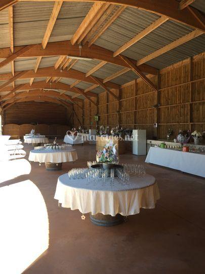 La grange Vin d'Honneur