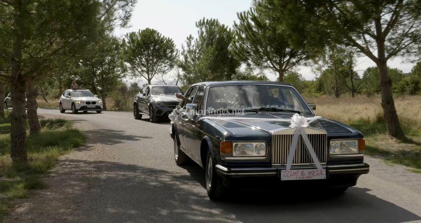 La Rolls des mariés