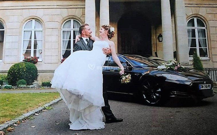 Mariage heureux en Model S