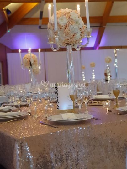 Table sequin