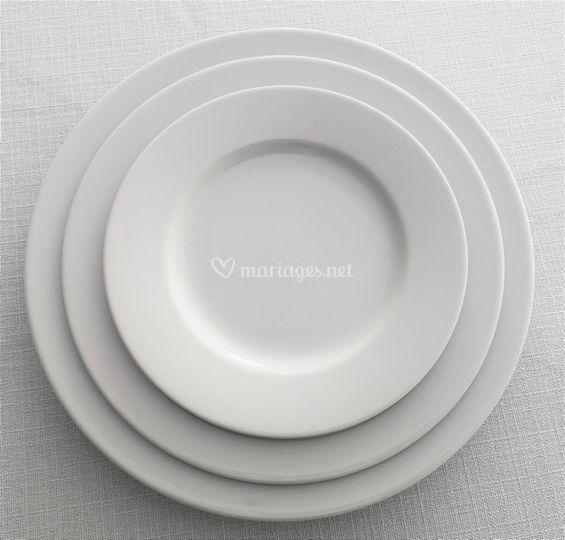 Assiettes Roma