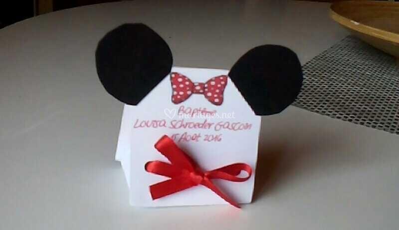 Boîte dragées Minnie