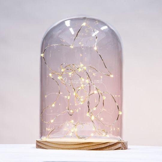 Cloche avec LED