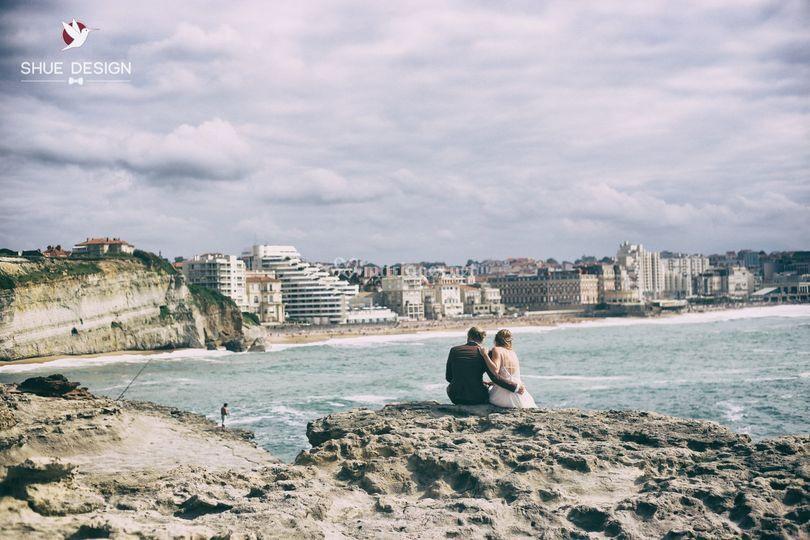 Depuis le phare de Biarritz