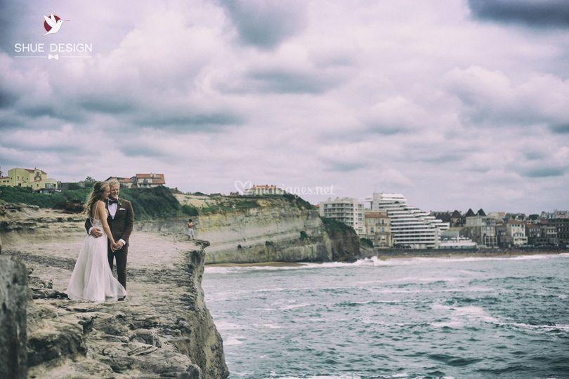 Photo de couple Grande plage