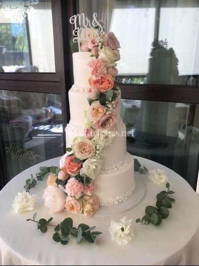 Wedding Cake Sister Love