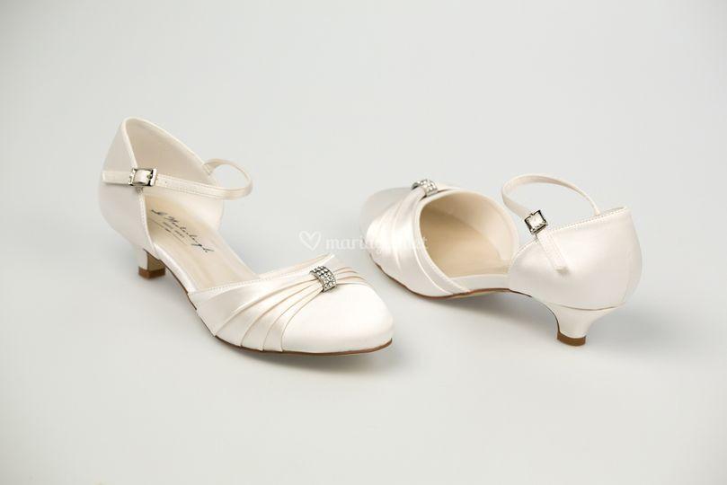 Chaussures de mariée Satin