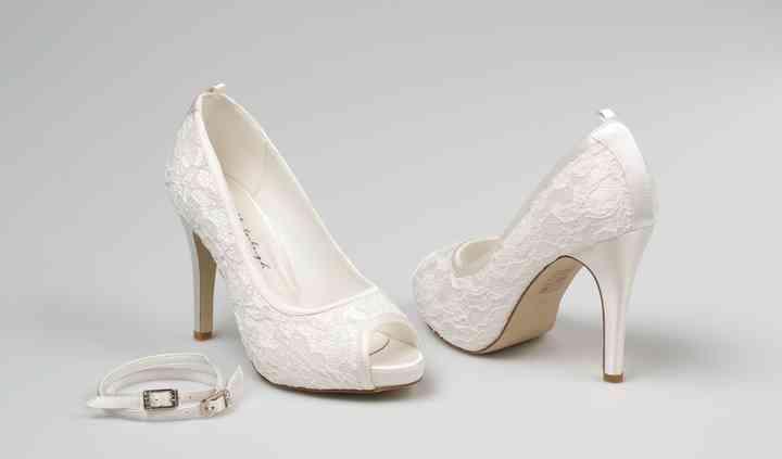 Chaussures de mariée Dentelle