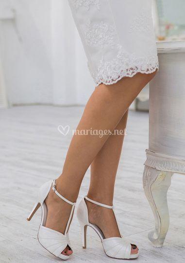Escarpins de mariée