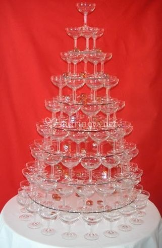 Pyramide de verres