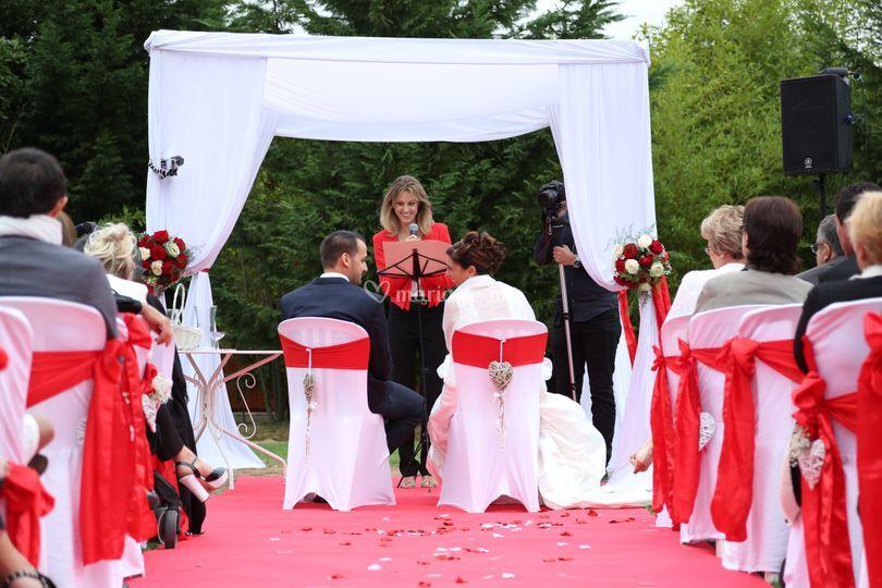 Emmanuelle Ricard - Officiante de cérémonie laïque