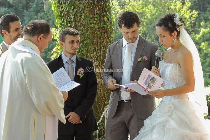 Lecture des mariés