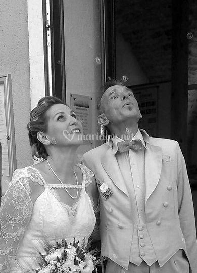 Robe de mariée by zélé et lili