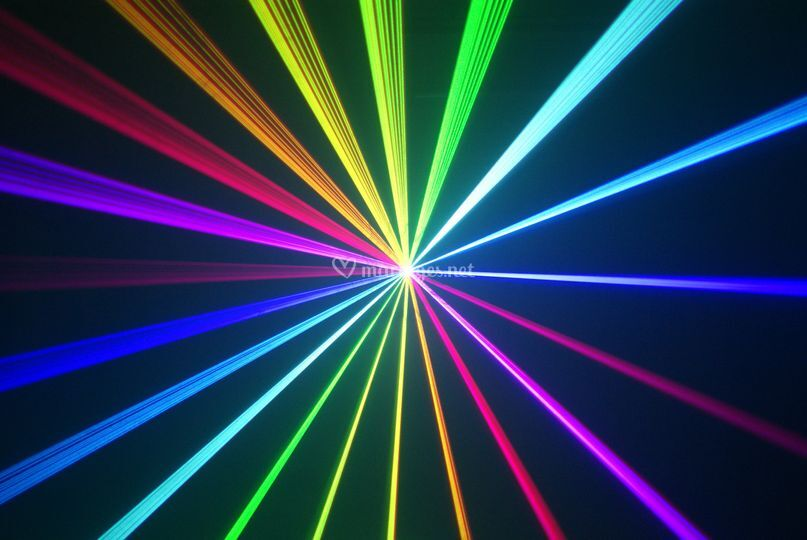 Laser Multi-couleurs