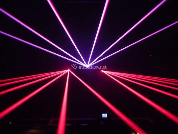 Show multi lasers