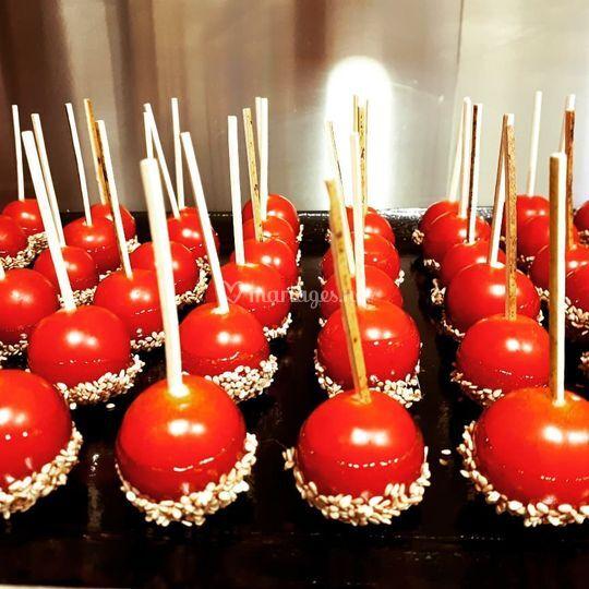 Tomates sucrées salées