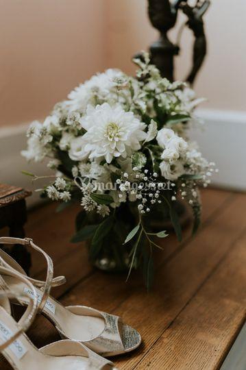 Détail mariée